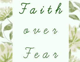 #87 for Faith Over Fear Book Cover by NamrathaT9