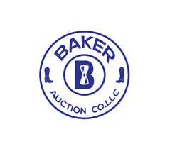 #57 para Logo Design - Baker Auction Co por Serinabagom