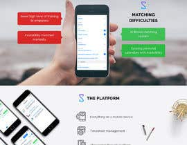 #32 for Design a Website Mockup for an app platform by greenarrowinfo