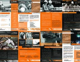#56 untuk Design Multiple Brochures for a Safety Consulting Company oleh dakimiki