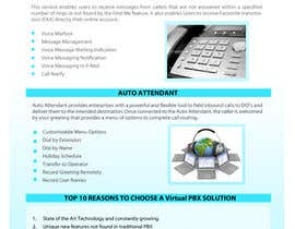 #3 for Graphic Design for Business VOIP Single Page Site by mnjprsnn