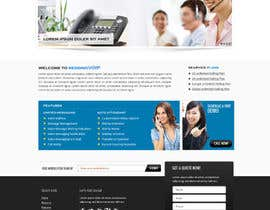 #4 for Graphic Design for Business VOIP Single Page Site af Pavithranmm