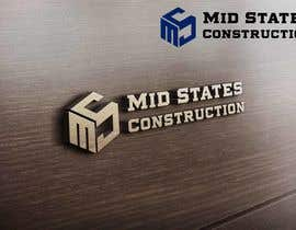 #85 cho Mid-States Construction Logo Needed bởi zwarriorx69