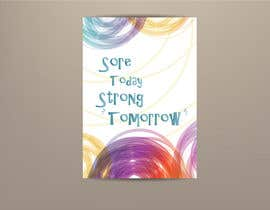 #88 for Sore Today, Strong Tomorrow Book Cover by princegraphics5