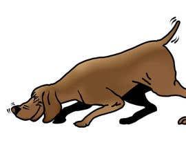 #54 cho Cartoon dog drawing - Vector bởi opoiki13