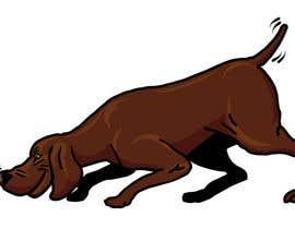 #62 cho Cartoon dog drawing - Vector bởi opoiki13