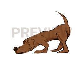 Nro 5 kilpailuun Cartoon dog drawing - Vector käyttäjältä ahmrdn25