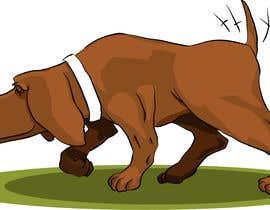 #58 cho Cartoon dog drawing - Vector bởi ToaMota