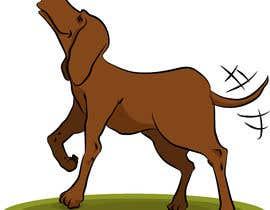 #60 cho Cartoon dog drawing - Vector bởi ToaMota