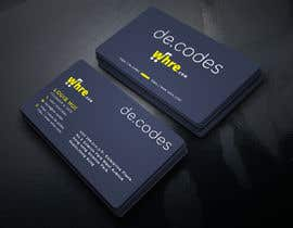 #123 for Design a professional business card with 2 URLs by jahidislamgd