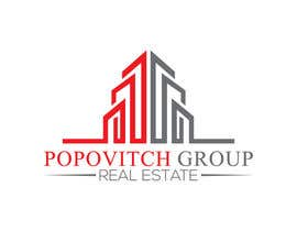 #124 cho LOGO DESIGN: Popovitch Group Real Estate bởi farhaislam1