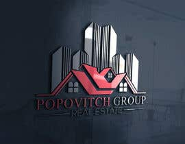 #127 dla LOGO DESIGN: Popovitch Group Real Estate przez farhaislam1