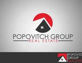Nro 129 kilpailuun LOGO DESIGN: Popovitch Group Real Estate käyttäjältä aymanelghandour