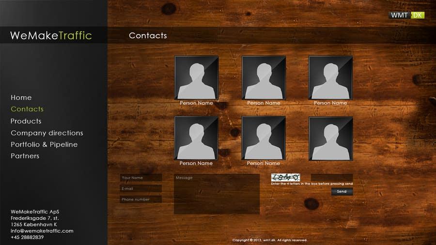 Contest Entry #2 for Website Design for WeMakeTraffic