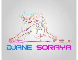 #24 for Need a modern logo for a female dj, need in png (whitout background, color and black). by Dina2688