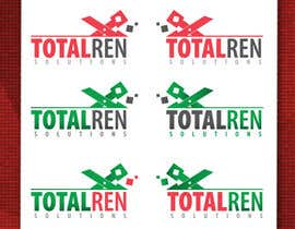 #101 para Logo Design for TotalRen Solutions por andreijindiceanu