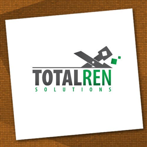 #99 for Logo Design for TotalRen Solutions by andreijindiceanu