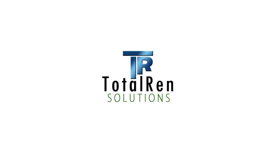#97 for Logo Design for TotalRen Solutions by JamesLa86