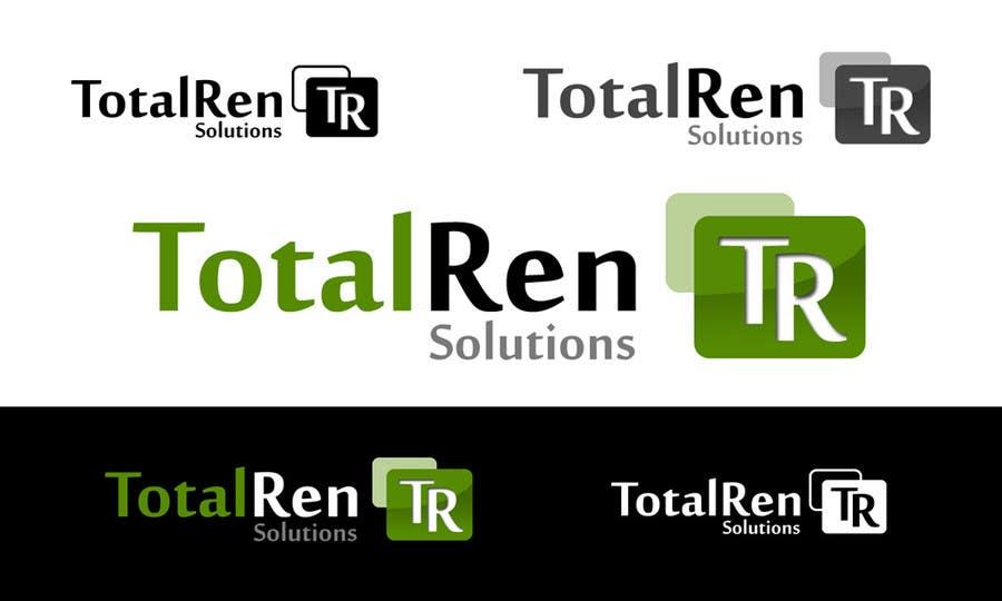 #102 for Logo Design for TotalRen Solutions by soundwave1985