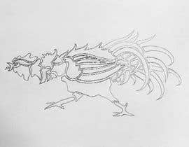 #31 for A rooster tatoo design by zoeyfae