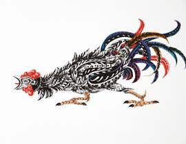 #29 for A rooster tatoo design by djamalidin