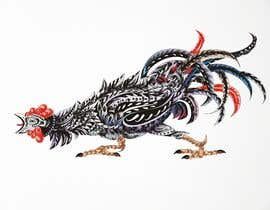 #30 for A rooster tatoo design by djamalidin