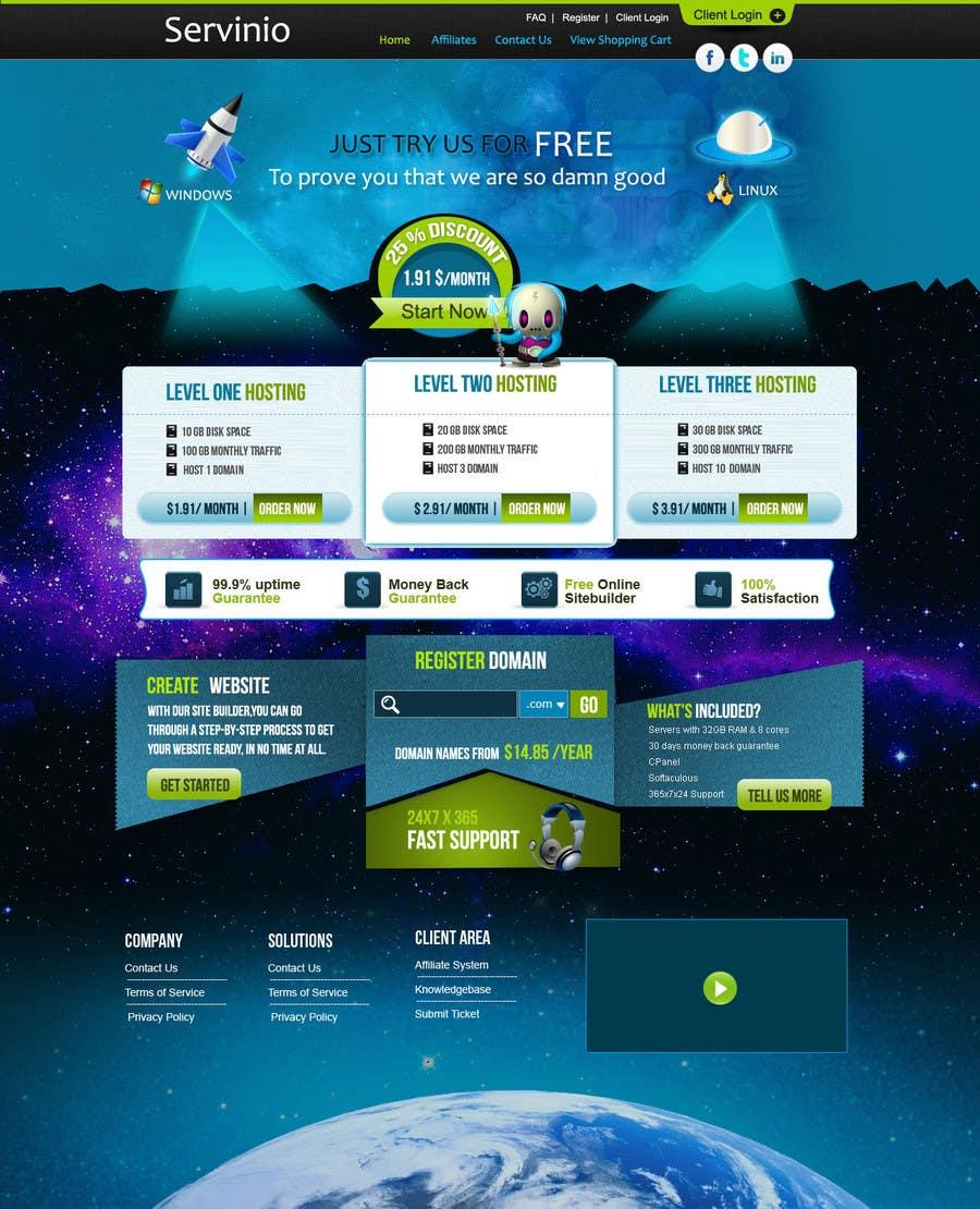 #23 for Website Design for servinio by oriondigital6