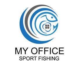 #69 for MY OFFICE SPORT FISHING LOGO by shakilhd99