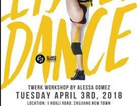 #9 for Design a Flyer OF A TWERK DANCE CLASS by ashwin36
