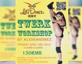 #28 for Design a Flyer OF A TWERK DANCE CLASS by cmarnob