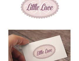 #41 for little lace logo for fabrics by wpurple