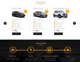 #20 for Design Landing Page by Webicules