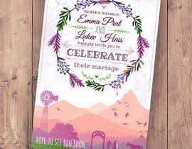 Nro 50 kilpailuun Design wedding invitation for a farm themed wedding käyttäjältä EolLotlan