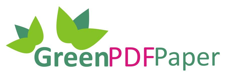 #217 for Logo Design for Green PDF Paper by jude134