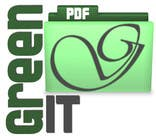 Graphic Design Entri Peraduan #40 for Logo Design for Green PDF Paper