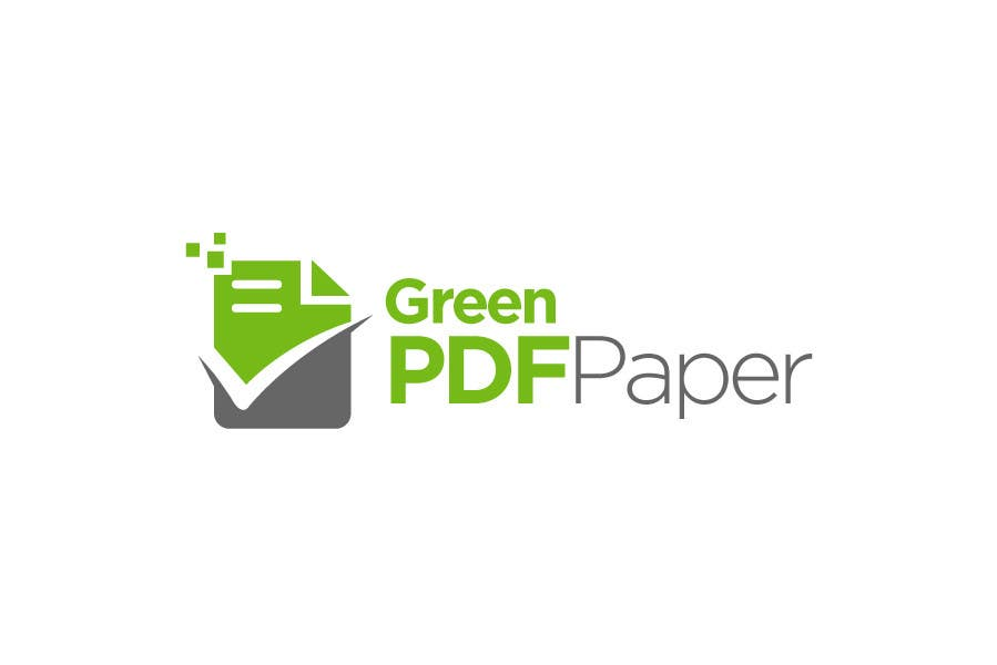 #137 for Logo Design for Green PDF Paper by BrandCreativ3