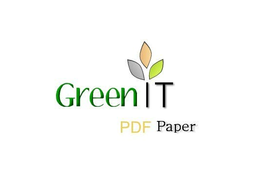 #146 for Logo Design for Green PDF Paper by SoadElHadad