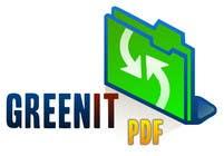 Graphic Design Entri Peraduan #118 for Logo Design for Green PDF Paper
