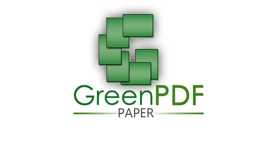 #190 for Logo Design for Green PDF Paper by JamesLa86