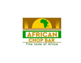 "Nro 10 kilpailuun I need a logo for my restaurant business.  The name of the restaurant is ""African Chop Bar"". And the motto is ""Fine taste of Africa"" käyttäjältä gyhrt78"