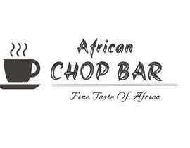 "Nro 6 kilpailuun I need a logo for my restaurant business.  The name of the restaurant is ""African Chop Bar"". And the motto is ""Fine taste of Africa"" käyttäjältä Bunnyp09"