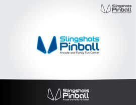 NexusDezign tarafından Logo Design for Slingshots Pinball Arcade and Family Fun Center için no 83