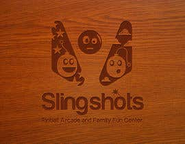 #80 para Logo Design for Slingshots Pinball Arcade and Family Fun Center por ImArtist