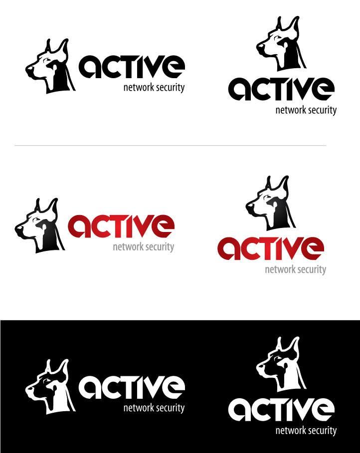 Inscrição nº                                         48                                      do Concurso para                                         Logo Design for Active Network Security.com
