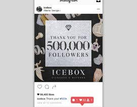 """#153 for """"THANK YOU FOR 500,000 FOLLOWERS!"""" Instagram Graphic!! by potterswag11"""