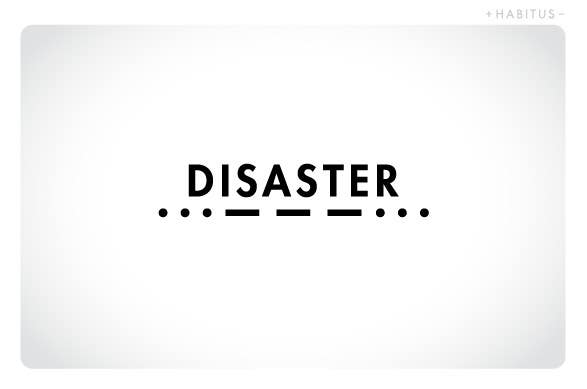 #32 for Logo Design for Disaster.Com - Giving Back to the Community by Habitus