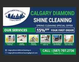 #52 for Flyer for a cleaning company by shamimfreelance2