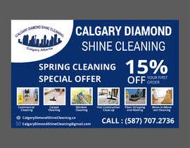 #54 for Flyer for a cleaning company by shamimfreelance2