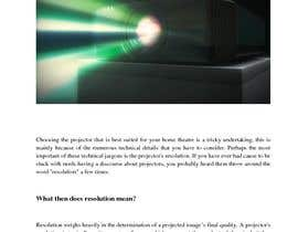 """#5 for Write an article titled """"Determining the Right Resolution for Your Home Theater Projector"""" by supersystemng"""