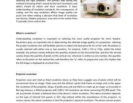 """#7 for Write an article titled """"Determining the Right Resolution for Your Home Theater Projector"""" by radissionit"""